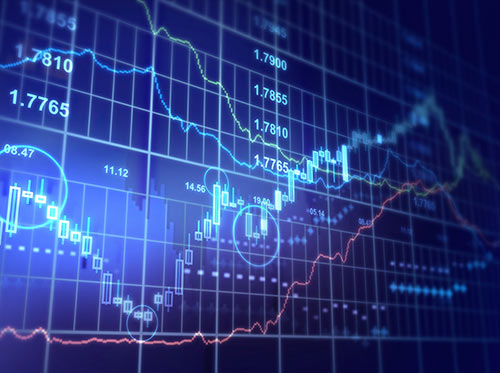 Binary Options financial chart